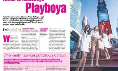 """Media polonijne piszą o historii kobiecego """"Playboya"""""""