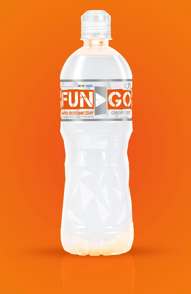 Fungo butelka orange back