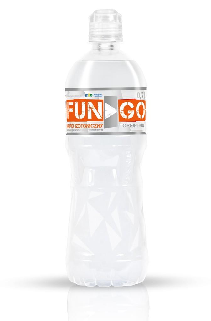 Fungo butelka white back