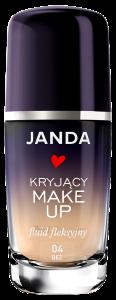 Janda kryj¦ůcy fluid fleksyjny, nr 04 be+-, cena 39,99z+é_30 ml