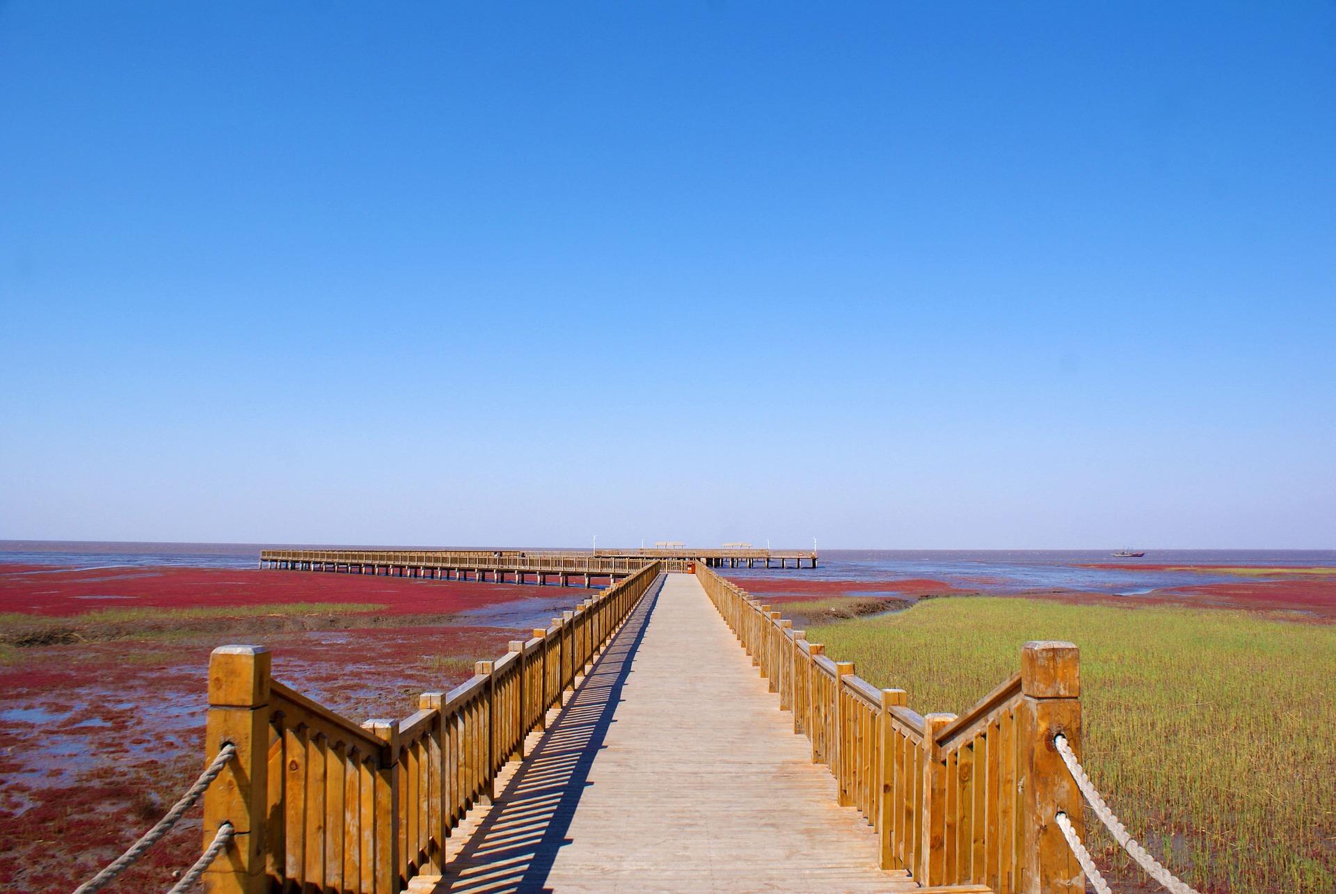 czerwona plaża 1