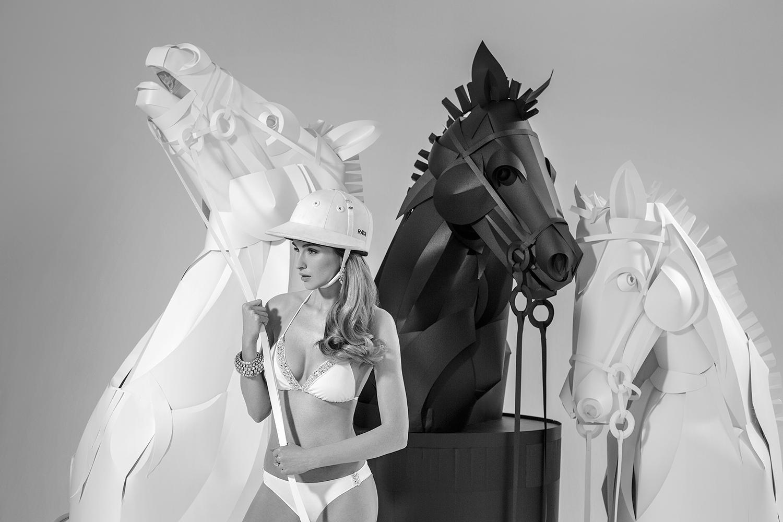 Asya Kozina konie