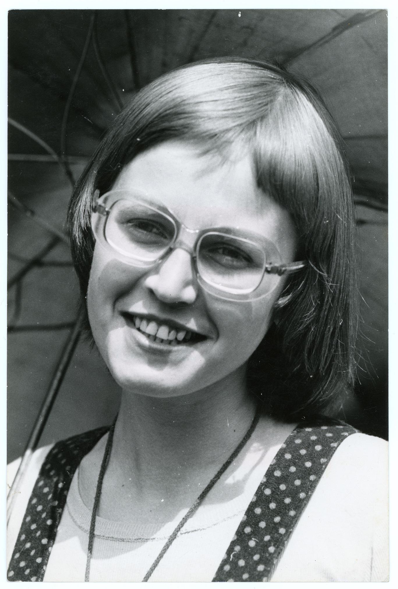 Ewa Panejko nad Morskim Okiem w 1974 r. fot. archiwum prywatne Ewy Panejko-Pankiewicz